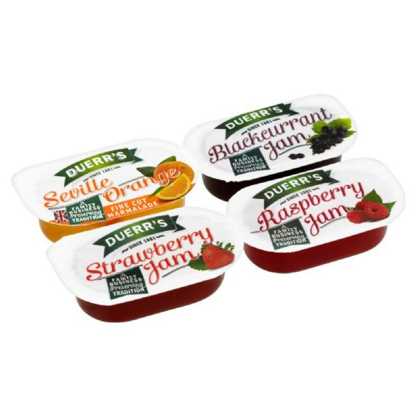 Duerr's Assorted Jams - New Smaller 14g portions